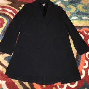 Classic Black Ann Taylor Suit Jacket & Skirt.